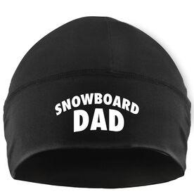 Snowboarding Beanie Performance Hat - Snowboard Dad