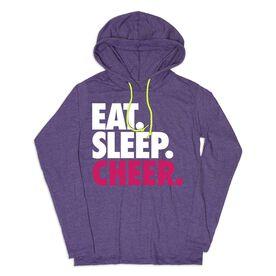 Women's Cheer Lightweight Hoodie - Eat Sleep Cheer