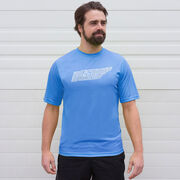 Men's Running Short Sleeve Tech Tee - Tennessee State Runner