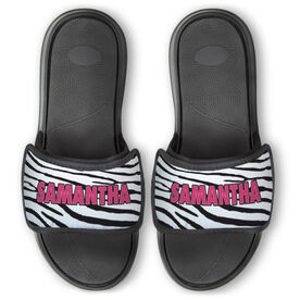 Personalized For You Repwell™ Slide Sandals - Zebra Print