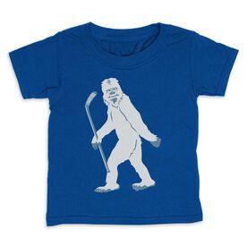 Hockey Toddler Short Sleeve Tee - Yeti