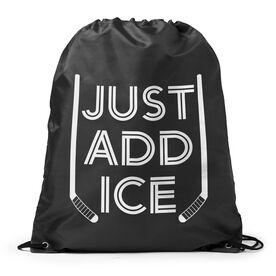 Hockey Sport Pack Cinch Sack - Just Add Ice