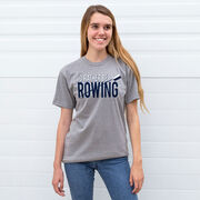Crew Tshirt Short Sleeve I'd Rather Be Rowing