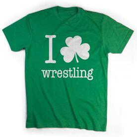 Wrestling Tshirt Short Sleeve I Shamrock Wrestling