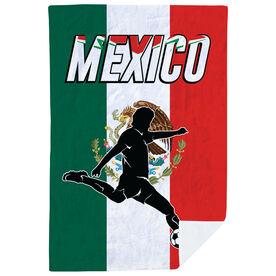 Soccer Premium Blanket - Mexico Soccer