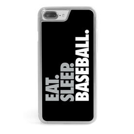 Baseball iPhone® Case - Eat Sleep Baseball