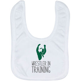 Wrestling Baby Bib - Wrestler In Training
