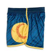 Lightning Softball Shorts - Navy