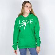 Figure Skating Hooded Sweatshirt - Love