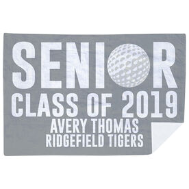 Golf Premium Blanket - Personalized Senior Class Of