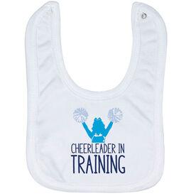 Cheerleading Baby Bib - Cheerleader In Training