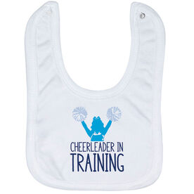 Cheerleading Baby Bib - Cheerleader In Training