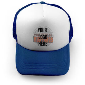 Basketball Trucker Hat Custom Team Logo