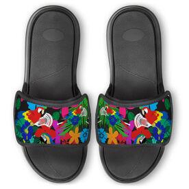 Guys Lacrosse Repwell® Slide Sandals - Lacrosse Parrots