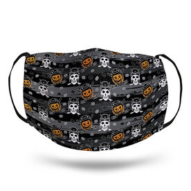 Hockey Face Mask - Hockey Skulls and Pumpkins