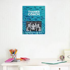 Swimming Photo Frame - Coach (Autograph)