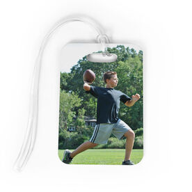 Football Bag/Luggage Tag - Custom Photo
