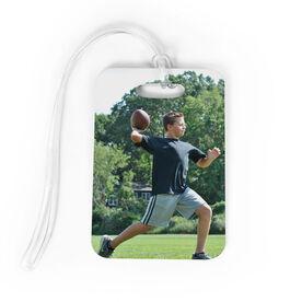 Football Bag/Luggage Tag - Custom Photo