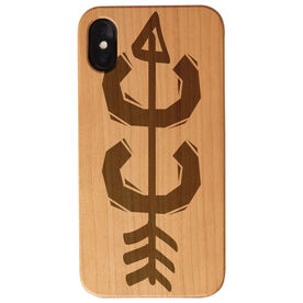 Cross Country Engraved Wood IPhone® Case - Cross Country CC