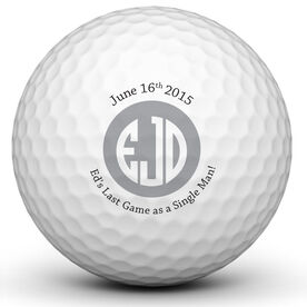 Bachelor Party Golf Ball