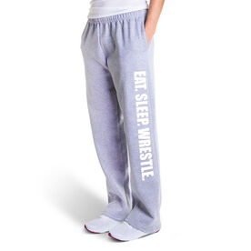 Wrestling Fleece Sweatpants - Eat Sleep Wrestle