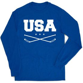 Hockey Tshirt Long Sleeve - USA Hockey