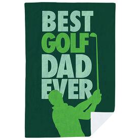 Golf Premium Blanket - Best Dad Ever