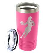 Basketball 20 oz. Double Insulated Tumbler - Girl Player