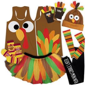 Goofy Turkey Running Outfit
