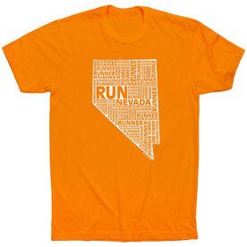 Running Short Sleeve T-Shirt - Nevada State Runner