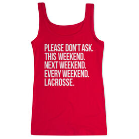 Lacrosse Women's Athletic Tank Top - All Weekend Lacrosse