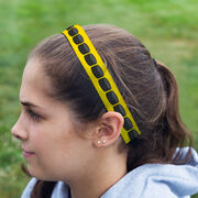Hockey Juliband No-Slip Headband - Hockey Stripe Pattern