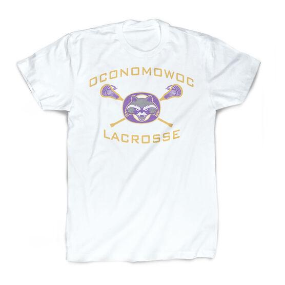 Vintage Tee - Oconomowoc Lacrosse Logo