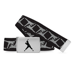 Softball Lifestyle Belt Player Pattern