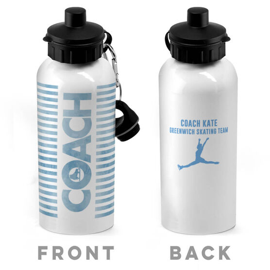 Figure Skating 20 oz. Stainless Steel Water Bottle - Coach