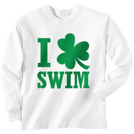 Swim Tshirt Long Sleeve I Shamrock Swim