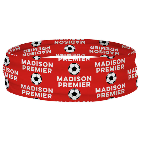 Soccer Multifunctional Headwear - Custom Team Name Repeat RokBAND