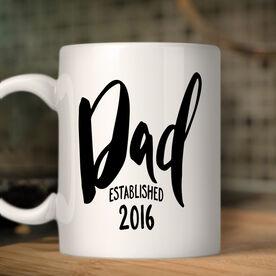 Dad Established Personalized Coffee Mug