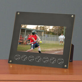 Softball Photo Display Frame Softball Ball