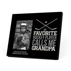 Hockey Photo Frame - Grandpa