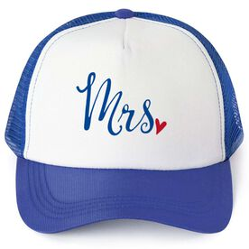 Personalized Trucker Hat - Mrs.