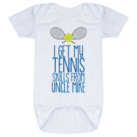 Tennis Baby One-Piece - I Get My Skills From