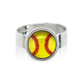 Softball SportSNAPS Ring