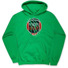 Wrestling Hooded Sweatshirt - Unleash The Beast