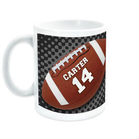 Football Coffee Mug Personalized Ball