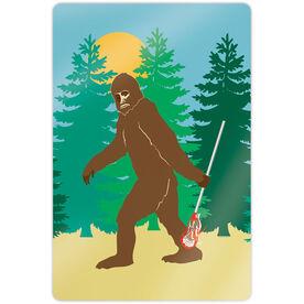 "Guys Lacrosse 18"" X 12"" Aluminum Room Sign - Bigfoot"