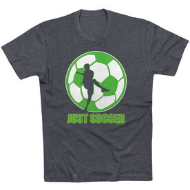 Soccer Tshirt Short Sleeve Just Soccer (Male)