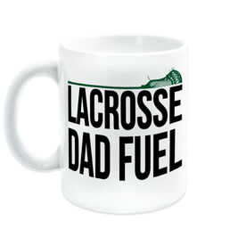 Guys Lacrosse Coffee Mug - Lacrosse Dad Fuel