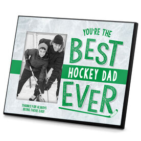 Hockey Photo Frame Best Hockey Dad Ever