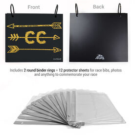 BibFOLIO® Race Bib Album - Arrows